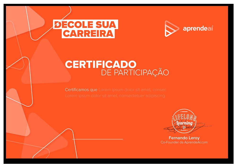 Certificado AprendeAí