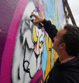 Curso Grafitti Art Binho Ribeiro