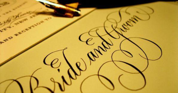 Caligrafia para convites de casamento: dicas e tendências