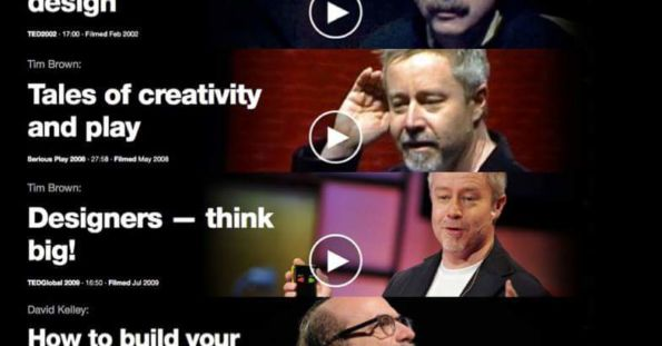 4 TED Talks sobre Design Thinking para aprender
