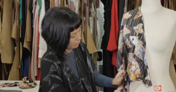 #Review: Paula Gabriela, curso Transformação Têxtil e Inovação em Formas