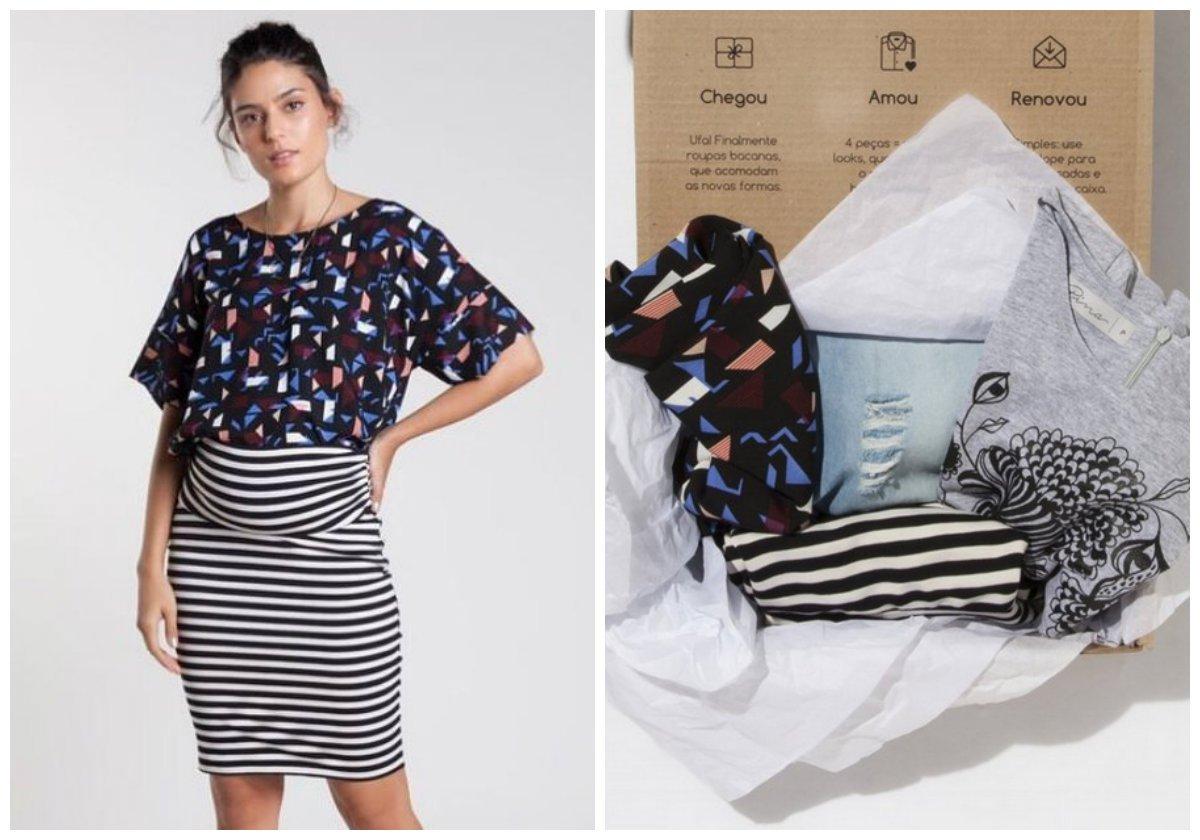 52e0759f3 Quando se está grávida, porque trocar todo o guarda roupa enquanto o  barrigão cresce? A BumpBox incentiva o reuso das roupas entre as grávidas  por meio da ...