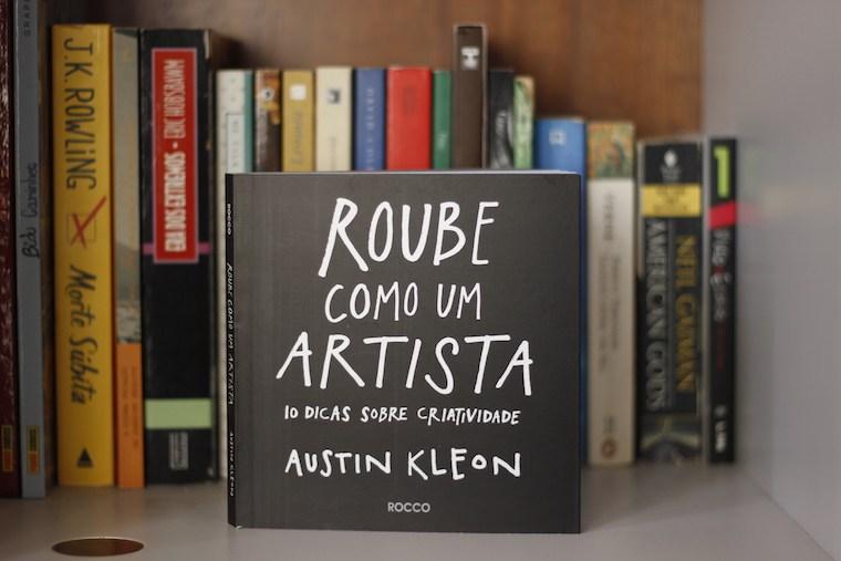 MICROBOOK: Livro Roube como um Artista